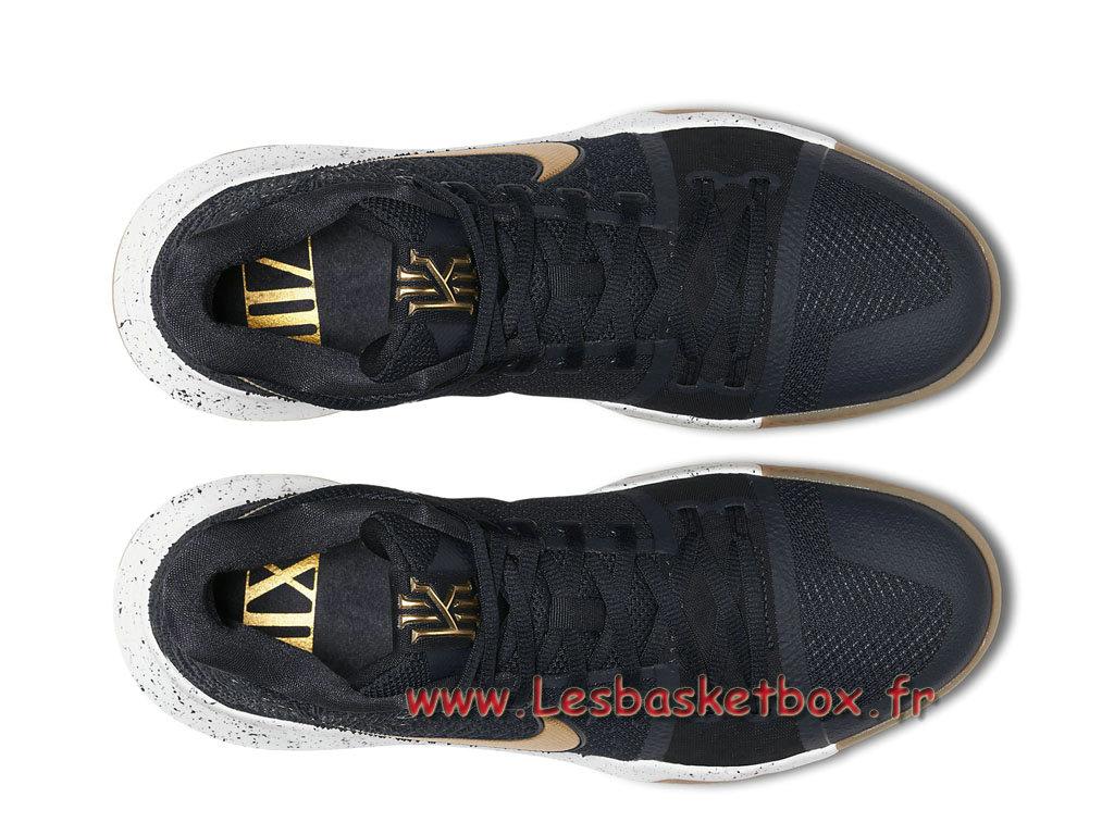Basket Chausport Nike Kyrie 3 Obsidian Gold 852395 400