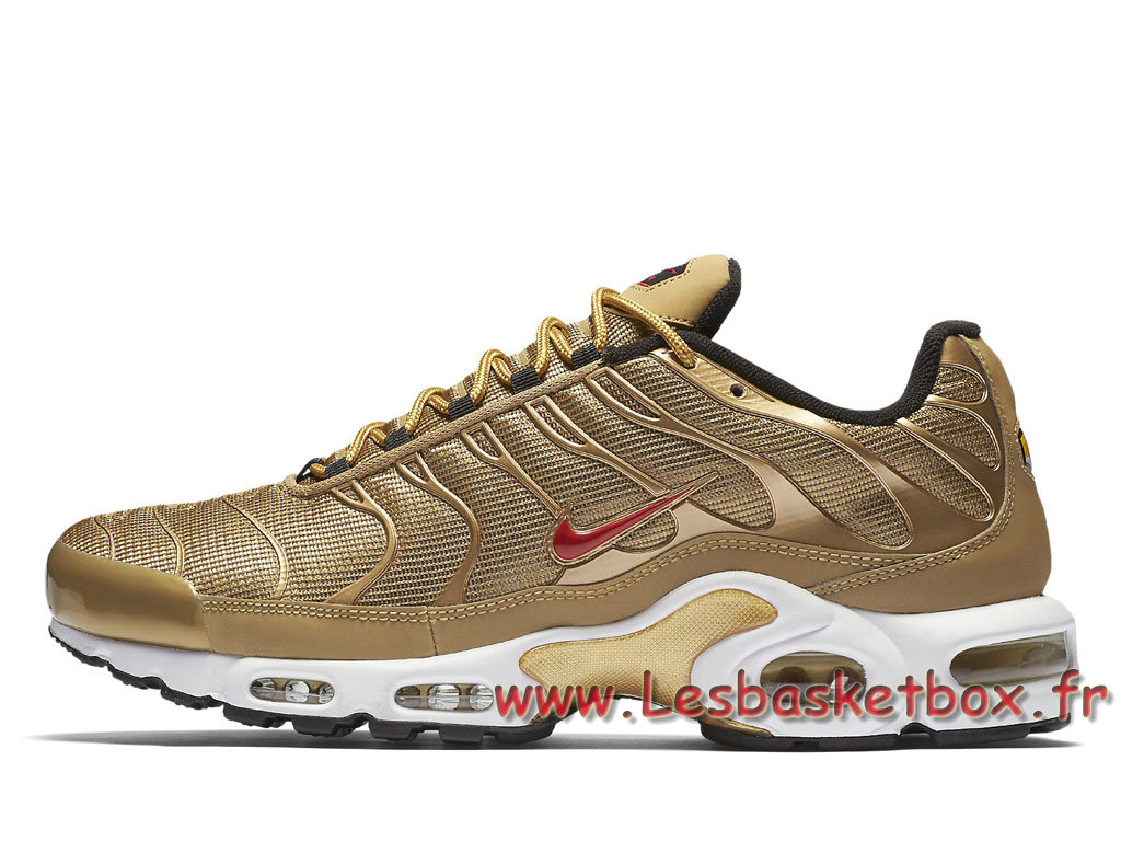 official photos c3271 bd21a Basket Nike Air Max Plus Qs ´Metallic Gold´ 903827700 Chausport Nike  Release 2017 Pour ...
