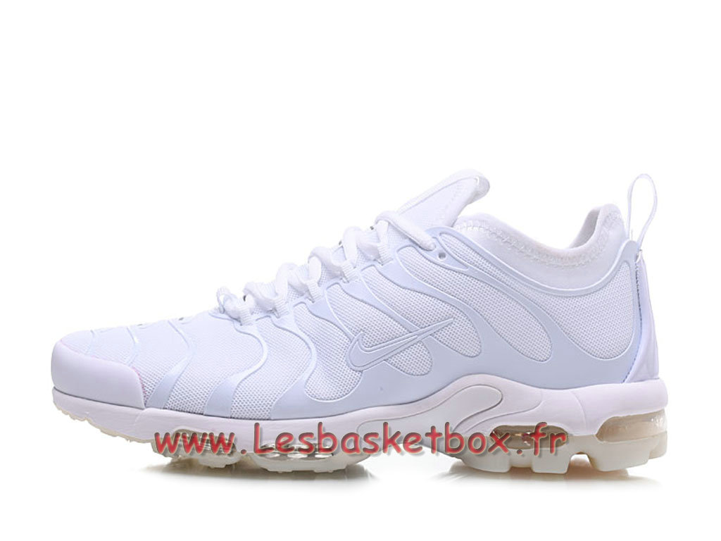grande vente sur des coups de pieds de 100% authentique Basket Nike Air max Plus Tn Ultra All Blanc Chaussures Nike tn Pour Homme -  1711151322 - Officiel Nike Basket Pour Homme Et Femme A Vendre En Bas Prix