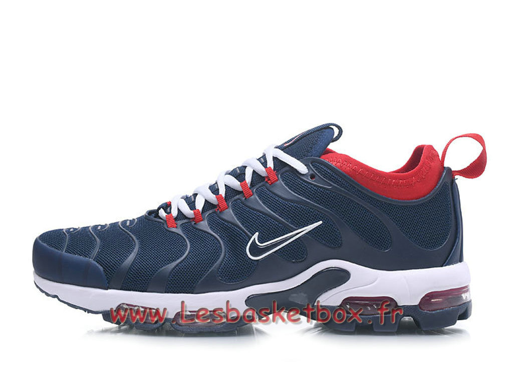 Basket Nike Air max Plus Tn Ultra Bleu/Rouge Chaussures Nike tn Pour