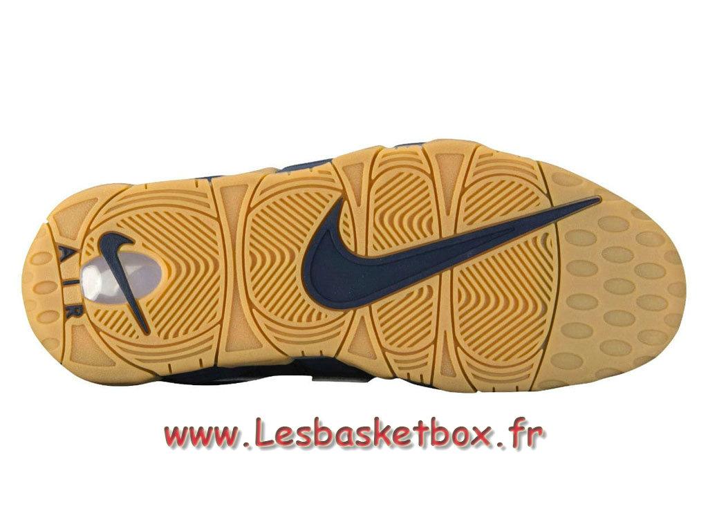 f7838f9bc7bcb ... Basket Nike Air More Uptempo 96 Obsidian 921948 400 men´s Nike Basket  Shoes Bleu