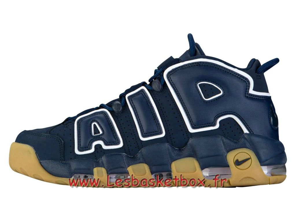 new arrival 32049 2d4e9 Basket Nike Air More Uptempo 96 Obsidian 921948 400 men´s Nike Basket Shoes  ...