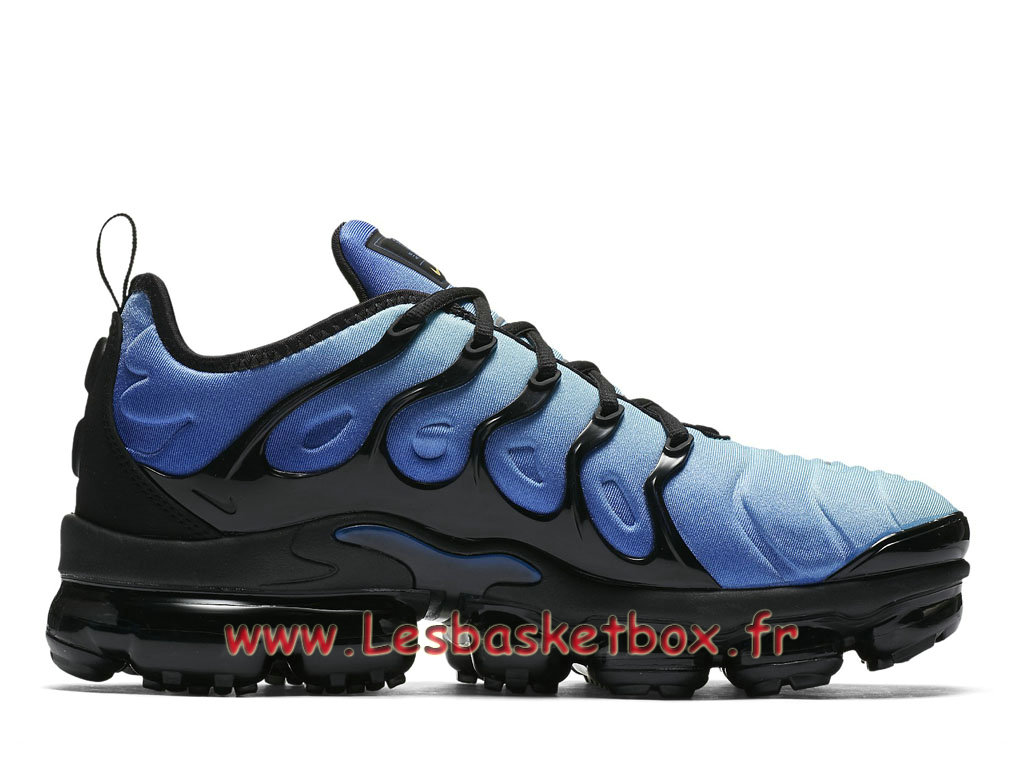 check out e38e4 ffd5e ... Basket Nike Air VaporMax Plus TN Hyper Blue 924453 008 chaussure  Officiel prix Pour Homme ...