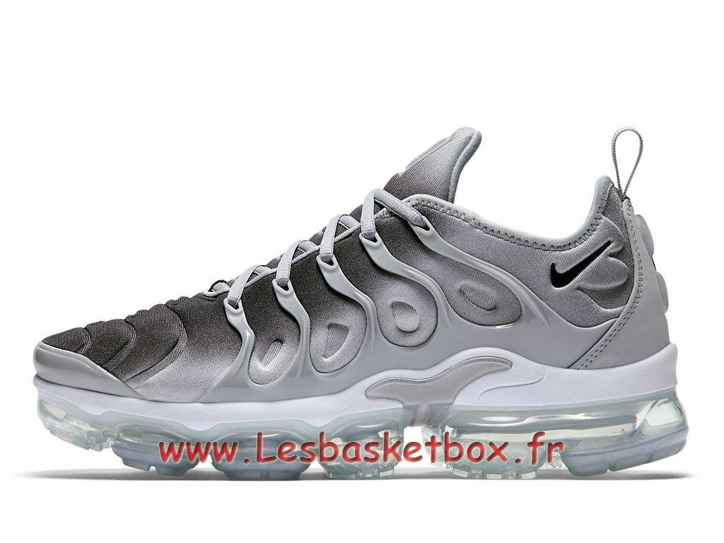 online store 5fe49 2b709 Basket Nike Air VaporMax Plus TN Wolf Grey 924453 007 chaussure sportwear  prix Pour Homme ...