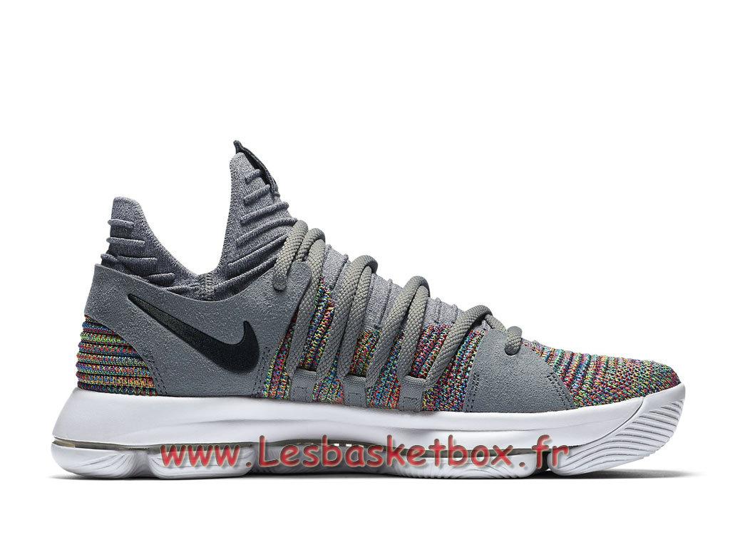 1a395f0c21c ... Basket Nike KD 10 Multicolor 897815 900 Chaussures Officiel Pas cher Pour  Homme Color ...