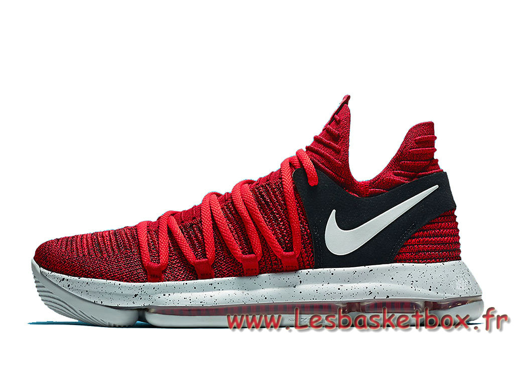 brand new c382f 7d14a Basket Nike KD 10 ´University Red Black´ 897816-600 Homme Nike Pas cher ...