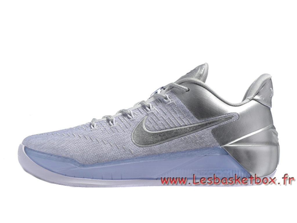 Basket Nike Kobe A.D Blanc argent Chaussures NIke 2017 Pour Chaussures Blance