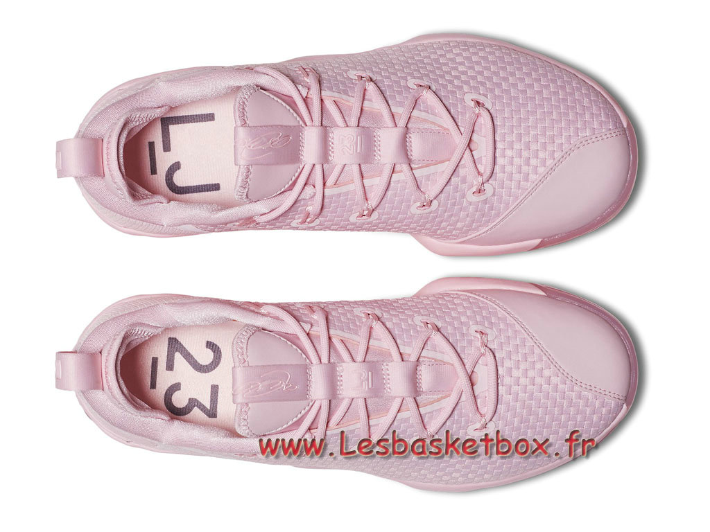 89e6855da37f2 Basket Nike LeBron 14 Low Pink 878635 600 Men´s Nike Prix 2017 Shoes ...