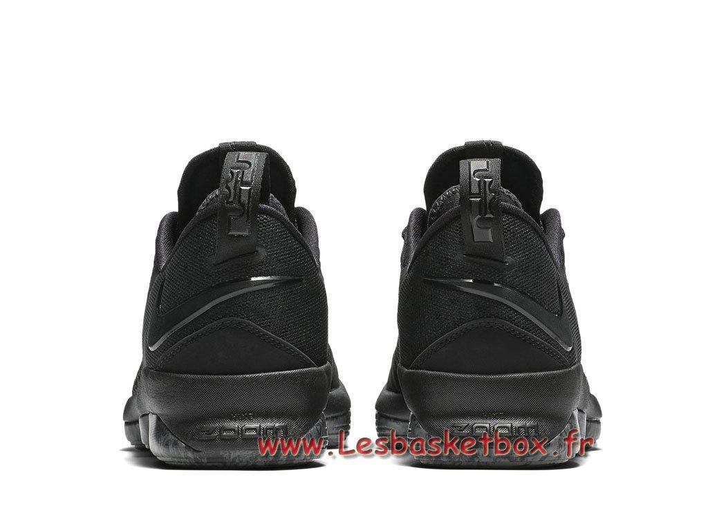 finest selection 3f842 3c8e2 ... Basket Nike LeBron 14 Low Triple Black 878635 002 Men´s NIke Lebron  Prix Shoes