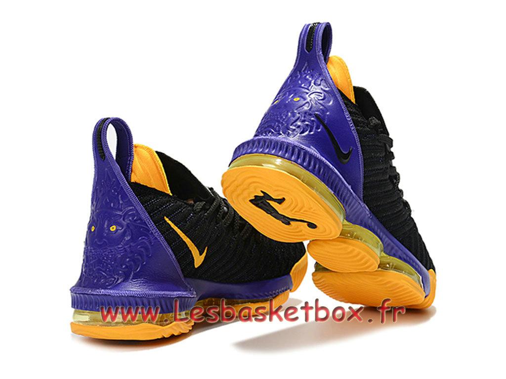 1993e3d62e4 Basket Nike Lebron 16 noires Pourpre Chaussure NIke Prix Pour Homme ...
