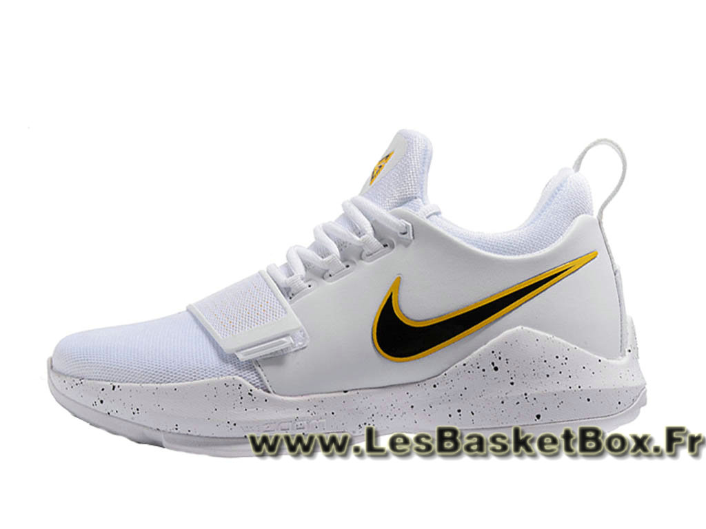 new product 0552b 69ef3 Basket Nike PG 1 ´Home´ 878627 ID12 Homme officiel pas cher Blanc