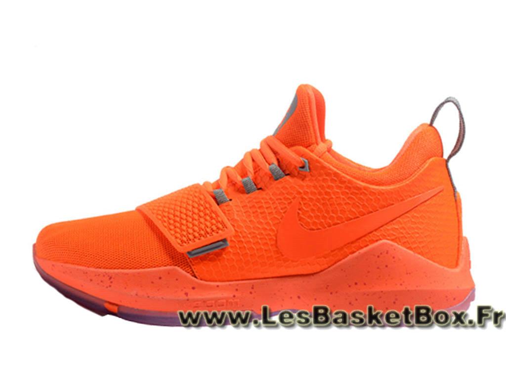 low priced 973f5 5b516 Basket Nike PG 1 Orange 878627 ID8 Homme Officiel prix 2017 Orange