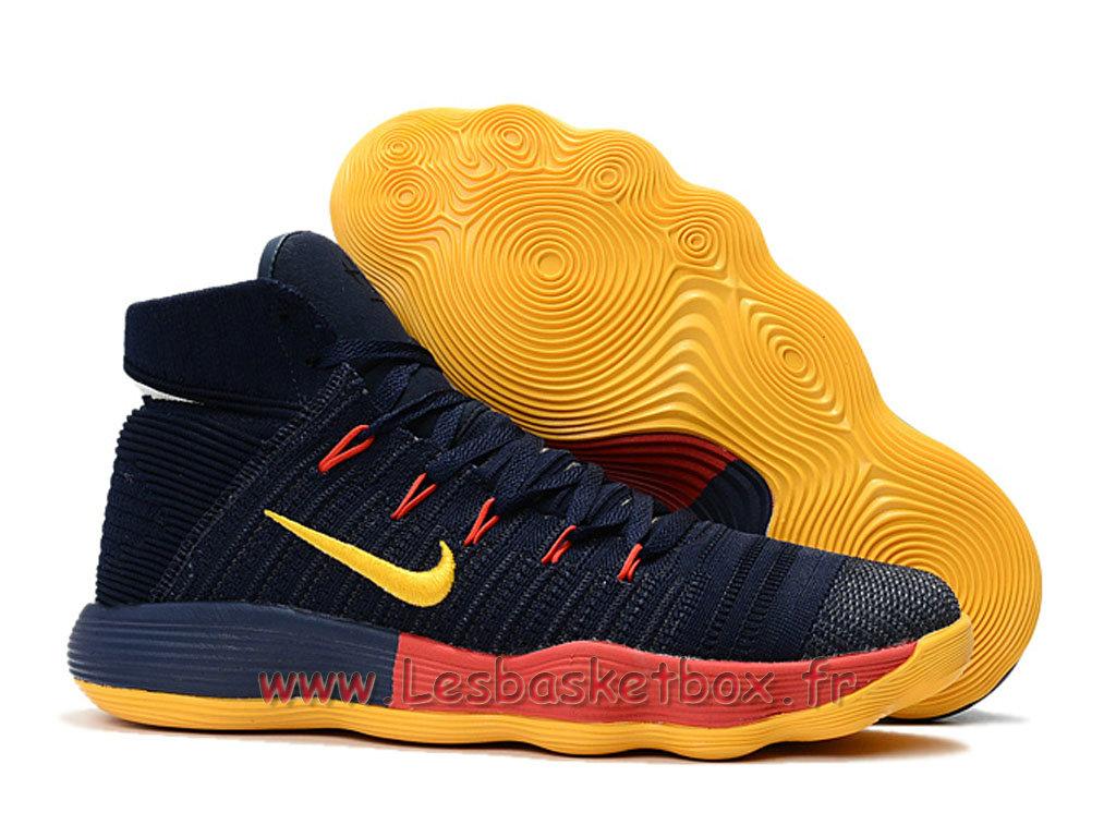 best loved fd046 97653 ... Basket Nike React Hyperdunk 2017 Flyknit Black Orange 917726 ID7 Men´s  Nike prix Shoes ...