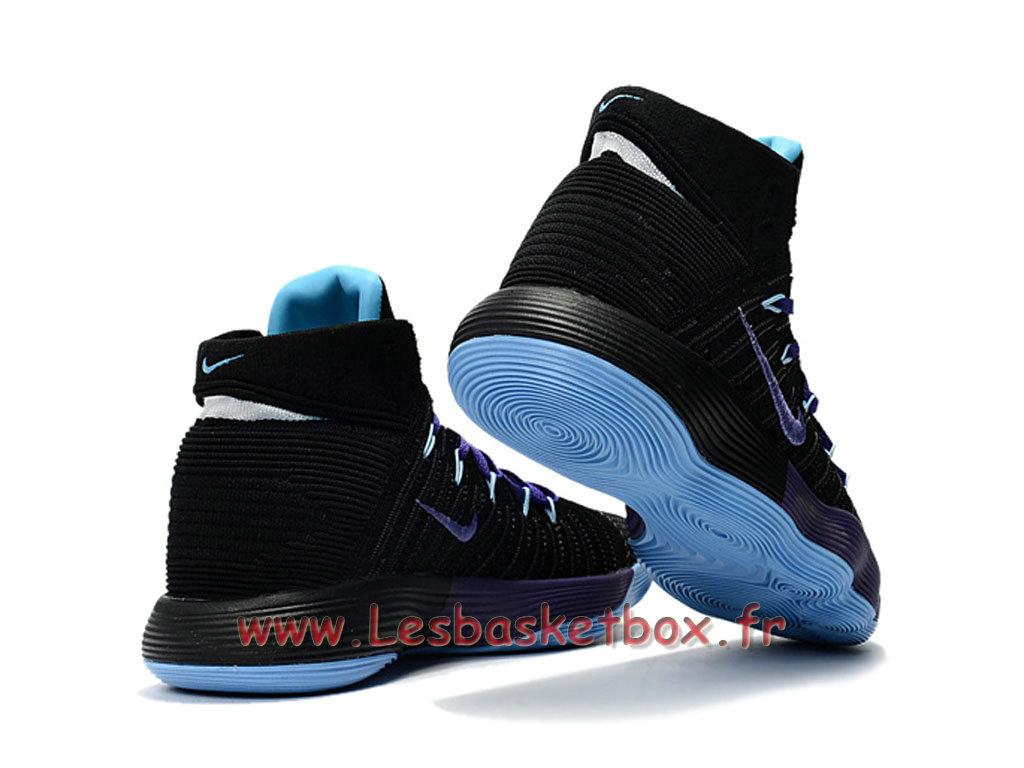 df3b392afa21 ... Basket Nike React Hyperdunk 2017 Flyknit Black Poupre 917726 ID2 Men´s  Nike prix Shoes