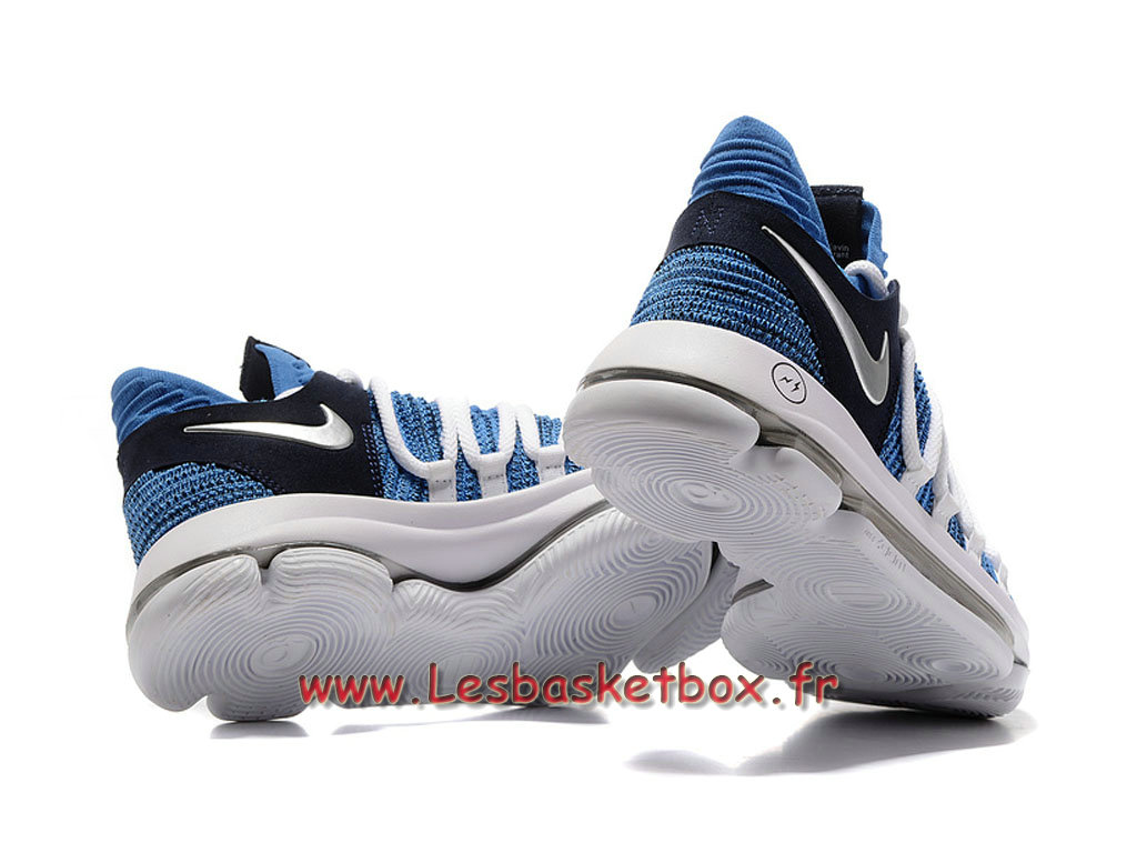 cheap for discount 8c5be 66d2c Basket Nike Zoom Kd 10 Chaussures Nike Kd Prix Pour Homme Bleu Blanc