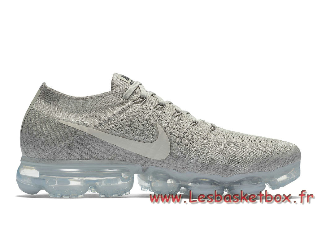 cbfd5d3dd7bf7 ... Shoe Running Nike Air Vapormax Flyknit ´Pale Grey´ 849558 005 For Men´s  ...