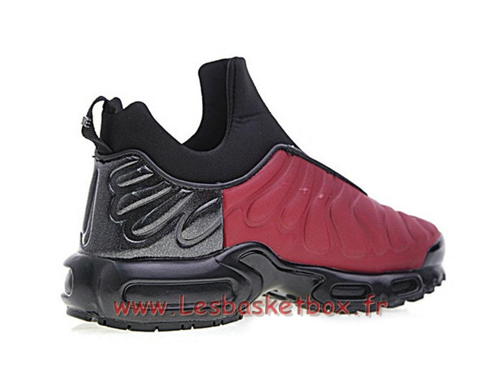 ... Chaussures Basket Nike Air Max Plus TN Slip Noires/Rouge 940382_ID1 Officiel 2018 Pour Homme ...