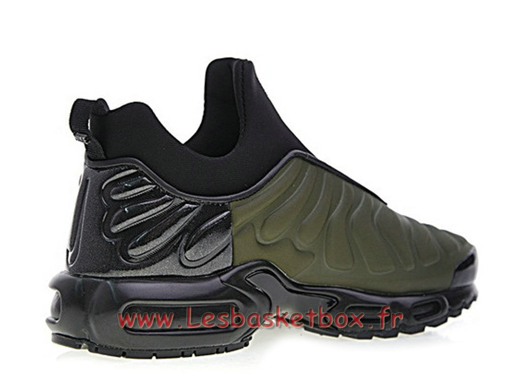 chaussures basket nike air max plus tn slip vert 940382 id2 officiel 2018 pour homme. Black Bedroom Furniture Sets. Home Design Ideas