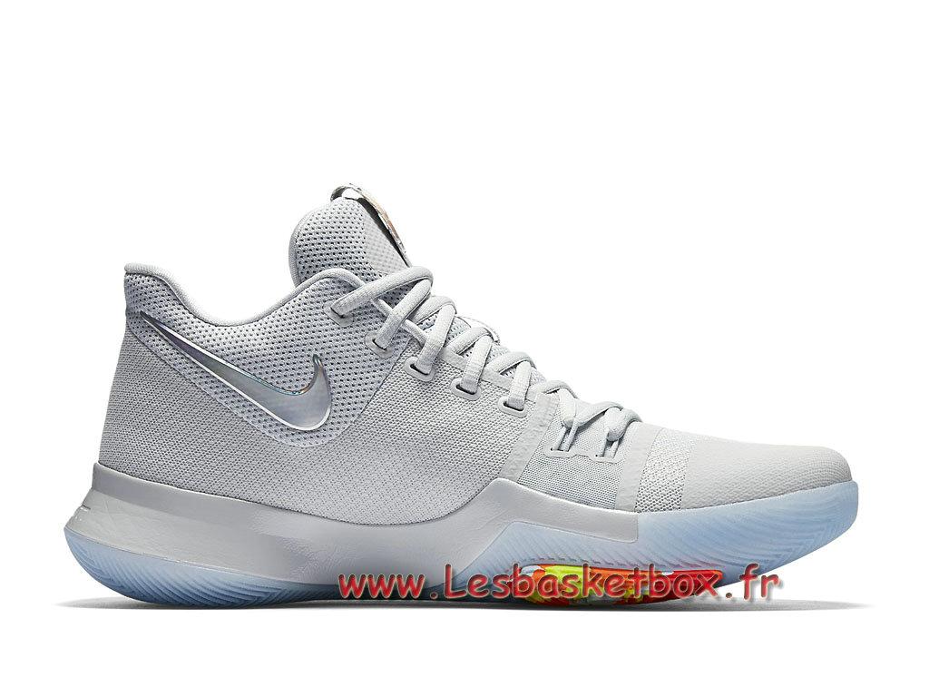 premium selection 9d306 35022 ... Chaussures Basket Nike Kyrie 3 Iridescent Swoosh 852416 001 Officiel  Nike prix pour Homme ...