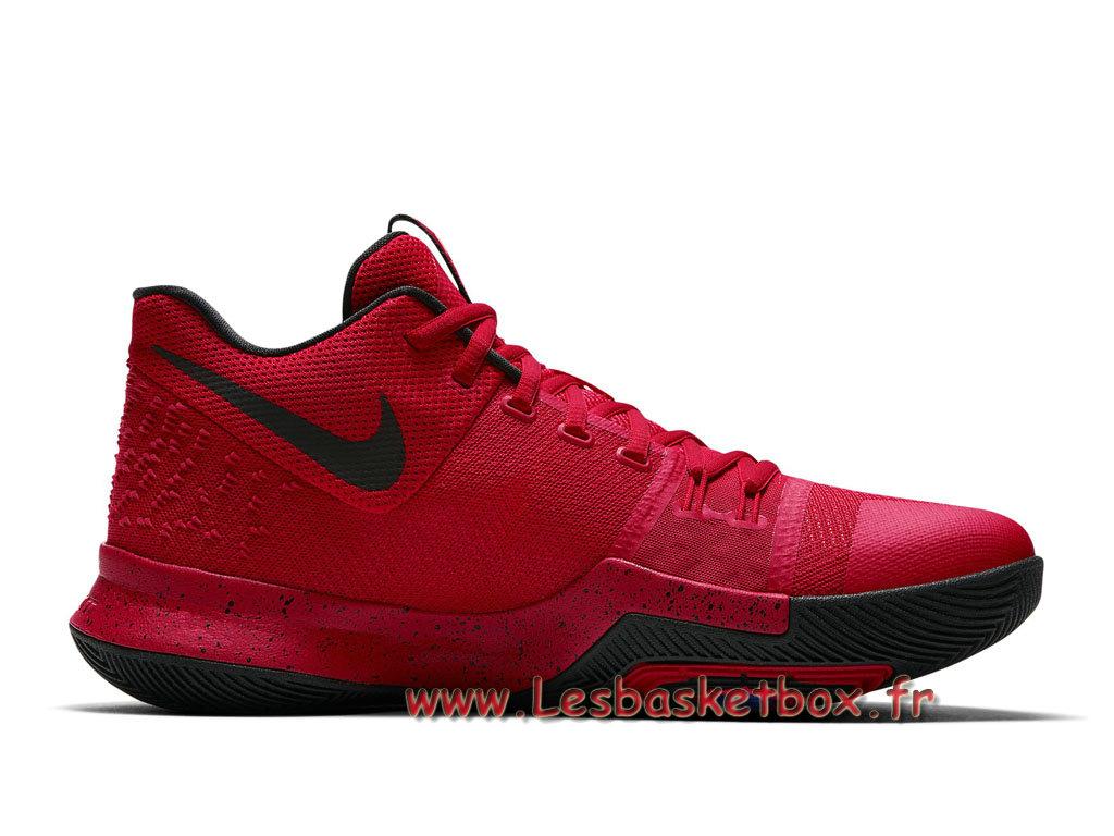 best website bb4ad a7e7d ... Shoe Basket Nike Kyrie 3 University Red Black 852395-600 Nike Prix For  Men´ ...