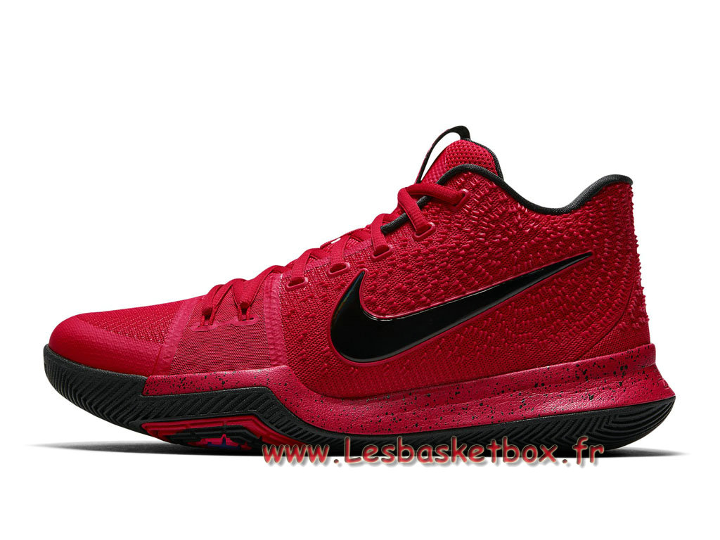 check out 8f9be 3eff8 Shoe Basket Nike Kyrie 3 University Red Black 852395-600 Nike Prix For Men´  ...