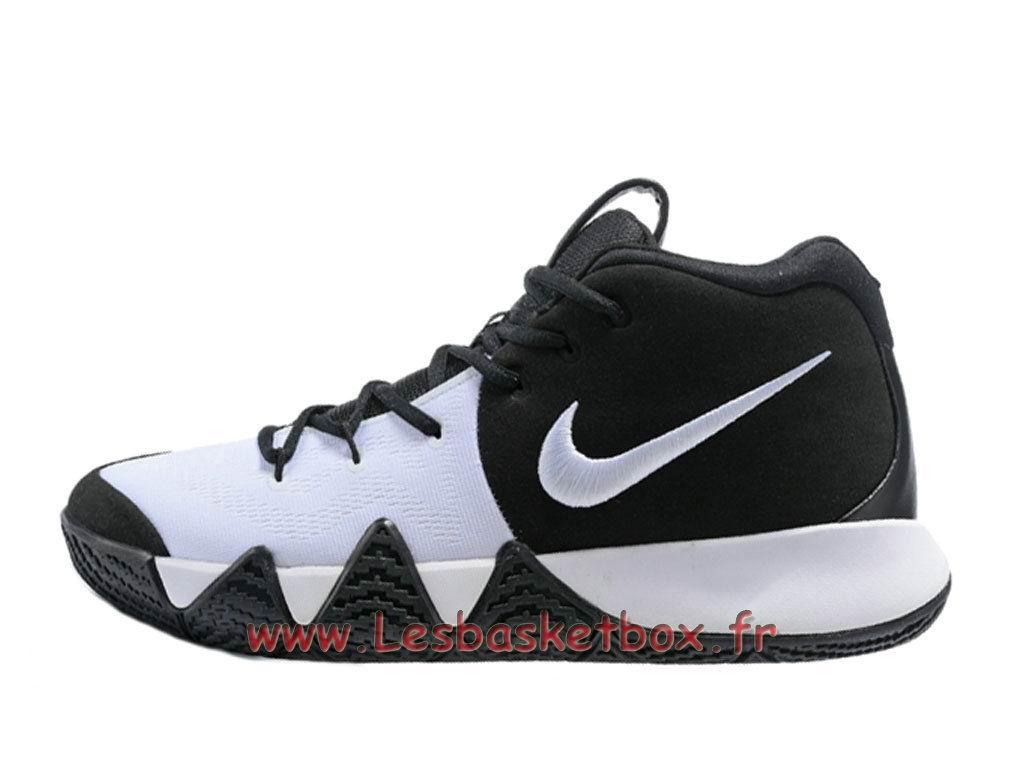 7a2afd15de42 Chaussures Basket NIKE Kyrie 4 Noires Blanc Officiel Nike Pour Homme ...