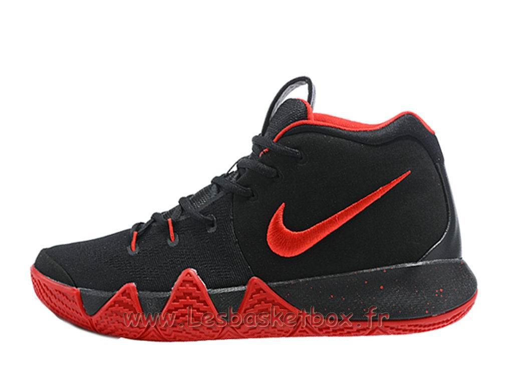 e31e71a4983b Chaussures Basket NIKE Kyrie 4 Noires Rouge Officiel Nike Pour Homme ...