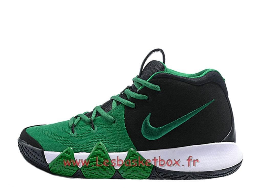 35b9f30328b Chaussures Basket NIKE Kyrie 4 Noires Vert Officiel Nike Pour Homme ...