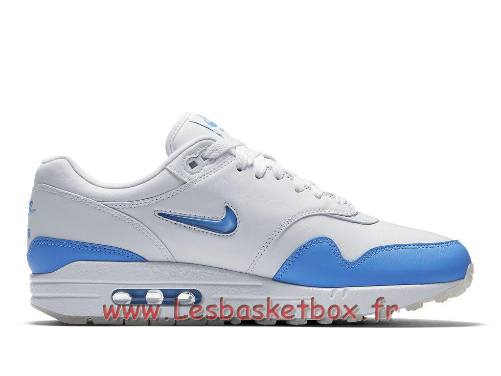 pretty nice 8f6f3 e8aae ... Chaussures Nike Air Max 1 Premium SC Jewel University Blue 918354 102  Nike Pas cher Pour Homme ...
