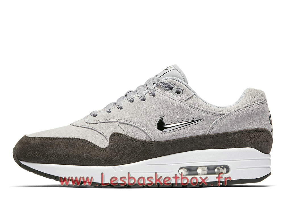 d1564969f57 Chaussures Nike Air Max 1 Premium SC Wolf Grey 918354 004 Nike Pas cher Pour  Homme