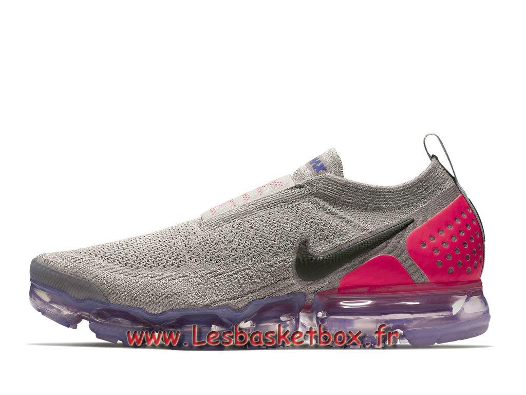Chaussures Nike Air VaporMax Flyknit Moc 2 Moon Particle AH7006_201 Officiel 2018 Pour Homme 1806211568 Officiel Nike Basket Pour Homme Et Femme A