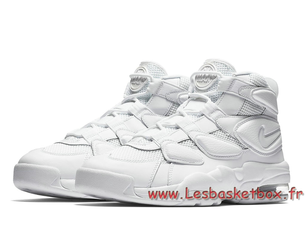 e38fd56d3ca ... Homme Nike Air Max 2 Uptempo 94 ´triple white´ 922934 100 Chaussures  Officiel Nike ...