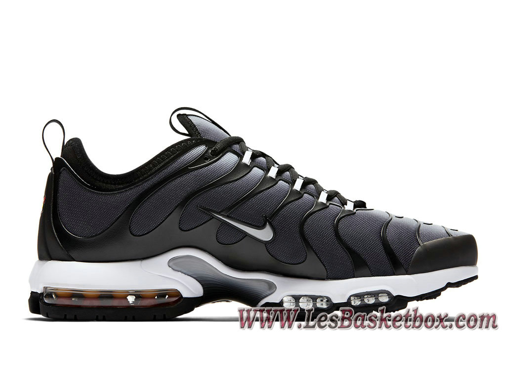 homme nike air max plus tn ultra noir gris loup 898015. Black Bedroom Furniture Sets. Home Design Ideas