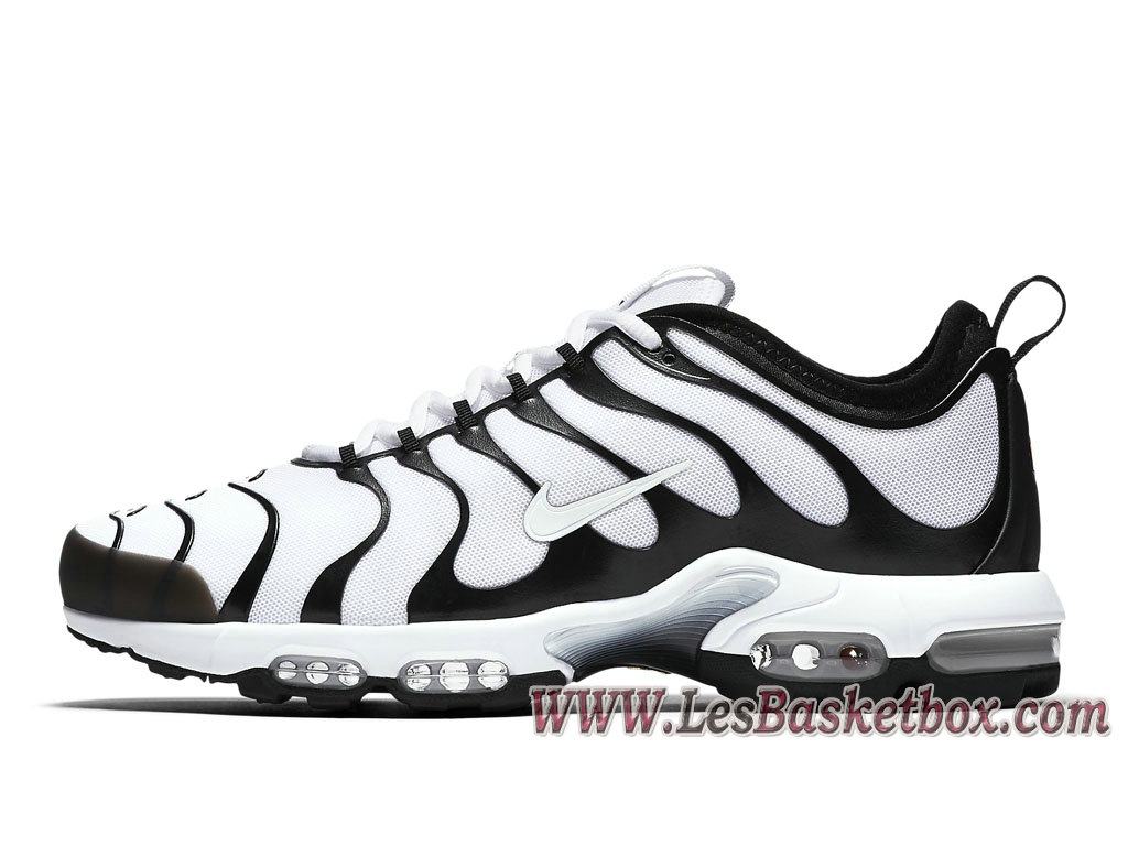 Homme Nike Air Max Plus TN Ultra White Black 898015_101 Nike Tuned Prix Pour Chaussures ...