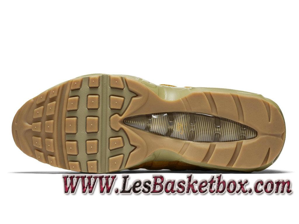 promo code b2ac5 761e3 ... Homme Running Nike Air Max 95 Essential Bronze 538416 700 Officiel prix Pour  Chaussures Jaune ...