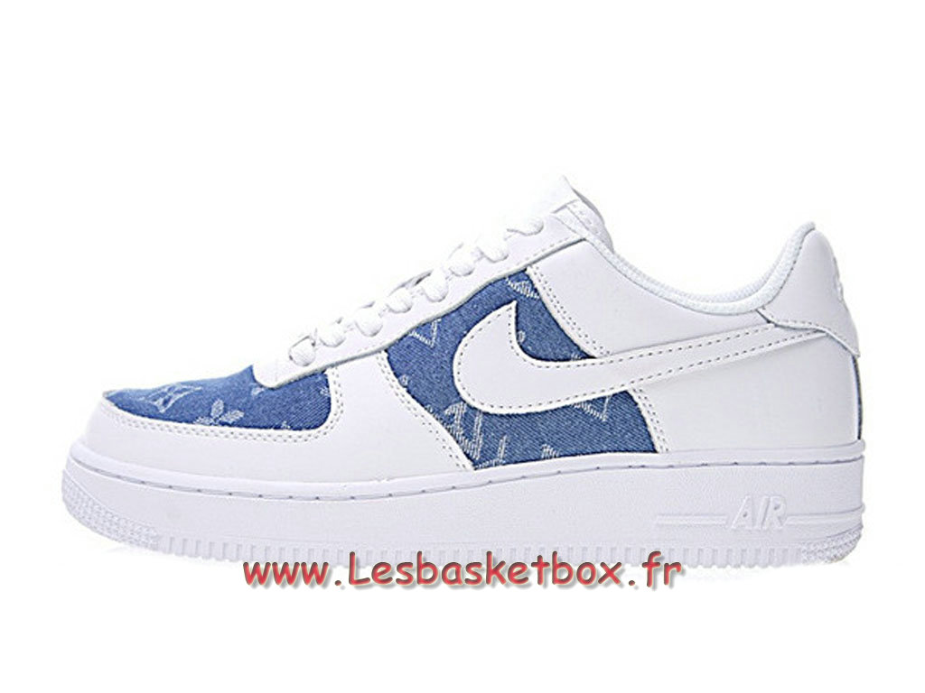 Lv 600 Chaussures Nike Air 1 Supreme 923089 X Force Denim wXilkZuTOP
