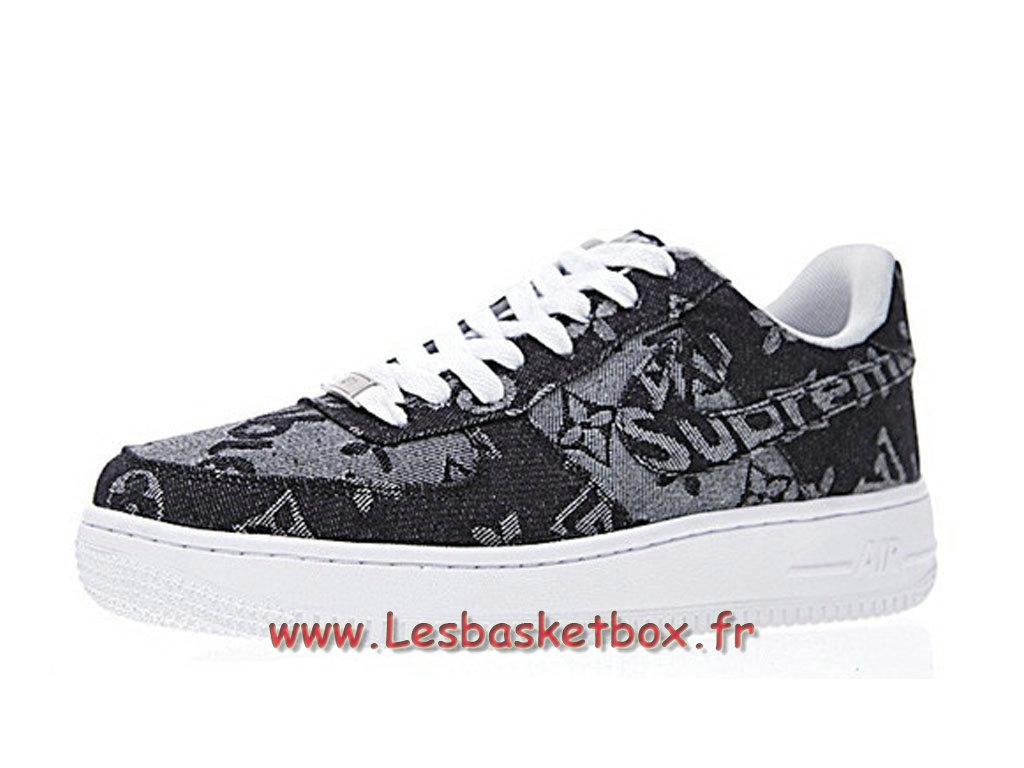 magasin en ligne 0780f 32e29 LV x Supreme x Nike Air Force 1 Denim AA5360-086 Chaussures Nike Supreme  Prix Pour Homme - 1711111310 - Officiel Nike Basket Pour Homme Et Femme A  ...