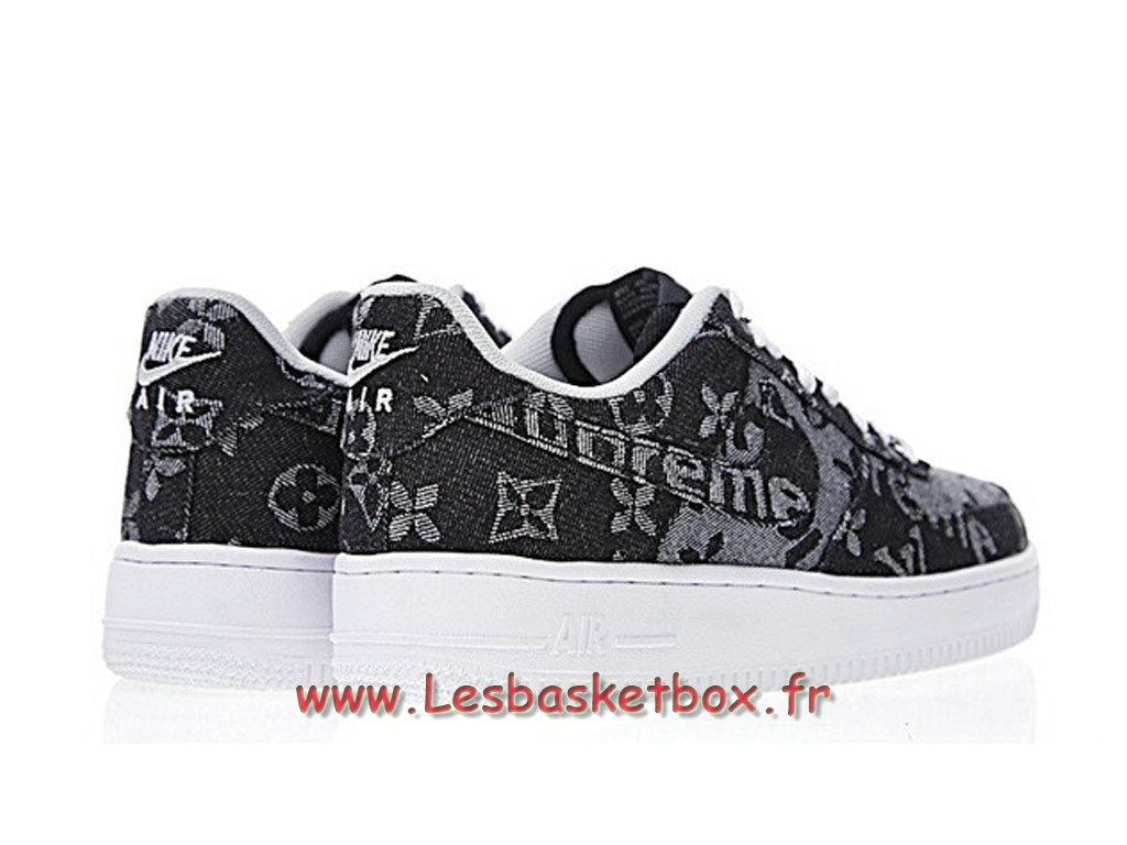 magasin en ligne b9aec 27501 LV x Supreme x Nike Air Force 1 Denim AA5360-086 Chaussures Nike Supreme  Prix Pour Homme - 1711111310 - Officiel Nike Basket Pour Homme Et Femme A  ...