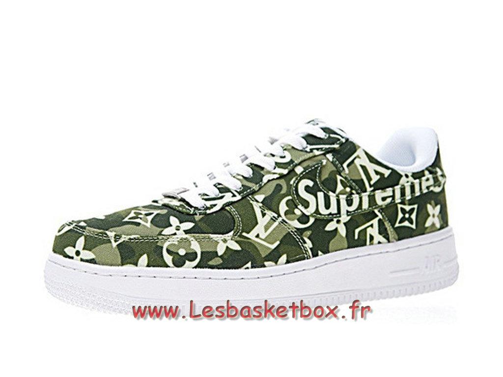 détaillant en ligne 37473 f9c52 LV x Supreme x Nike Air Force 1 Denim AA5360-300 Chaussures Nike Supreme  Prix Pour Homme - 1711111308 - Officiel Nike Basket Pour Homme Et Femme A  ...