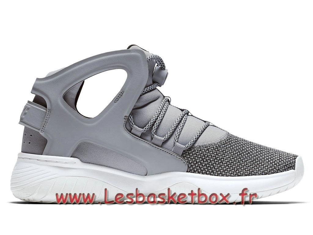 79d0a01a2e38 ... Nike Air Flight Huarache Ultra Cool Grey 880856_002 Chaussures Urh  Officiel Nike Prixpour Homme Gris ...