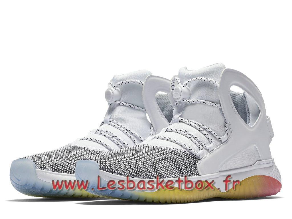 save off c606b d2baf ... Nike Air Flight Huarache Ultra White Pure Platinum 880856 101 Men´s Nike  Prix Shoes White ...