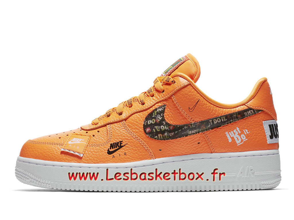 meilleur site web bfc3a a0039 Nike Air Force 1 07 Just Do It Pack Orange AR7719_800 Chaussures Officiel  2018 Pour Homme - 1810201729 - Officiel Nike Basket Pour Homme Et Femme A  ...