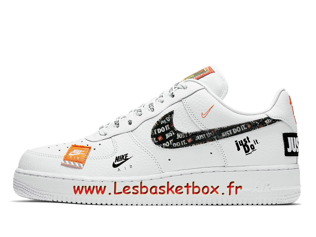 Nike Air Force 1 07 Just Do It Pack White AR7719-100 Chaussures Officiel 2018 Pour HOmme