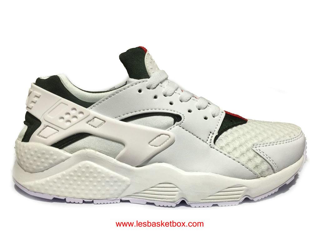 8fba23b59a Moins Cher Nike Air Gucci Huarache (Gucci Urh) Blanc Chaussures Pour ...