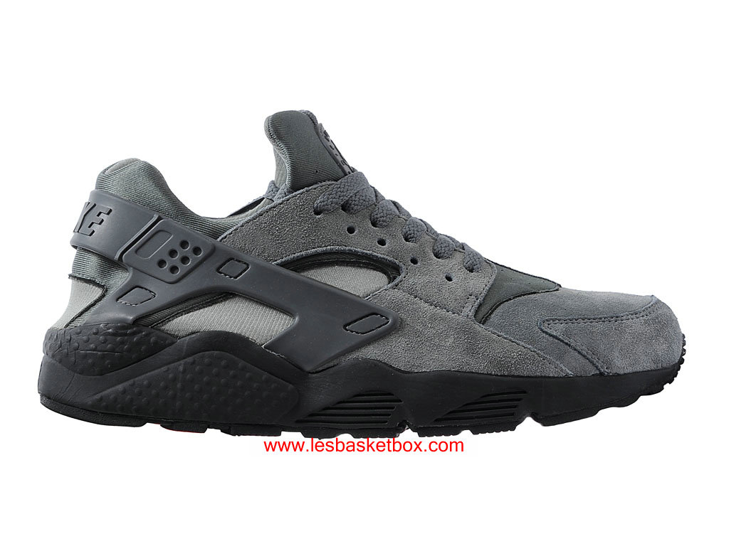 6418be8cf8d Nike Air Huarache (Air Urh) Cool Gris Antrachite Chaussures Pour Homme  318429-