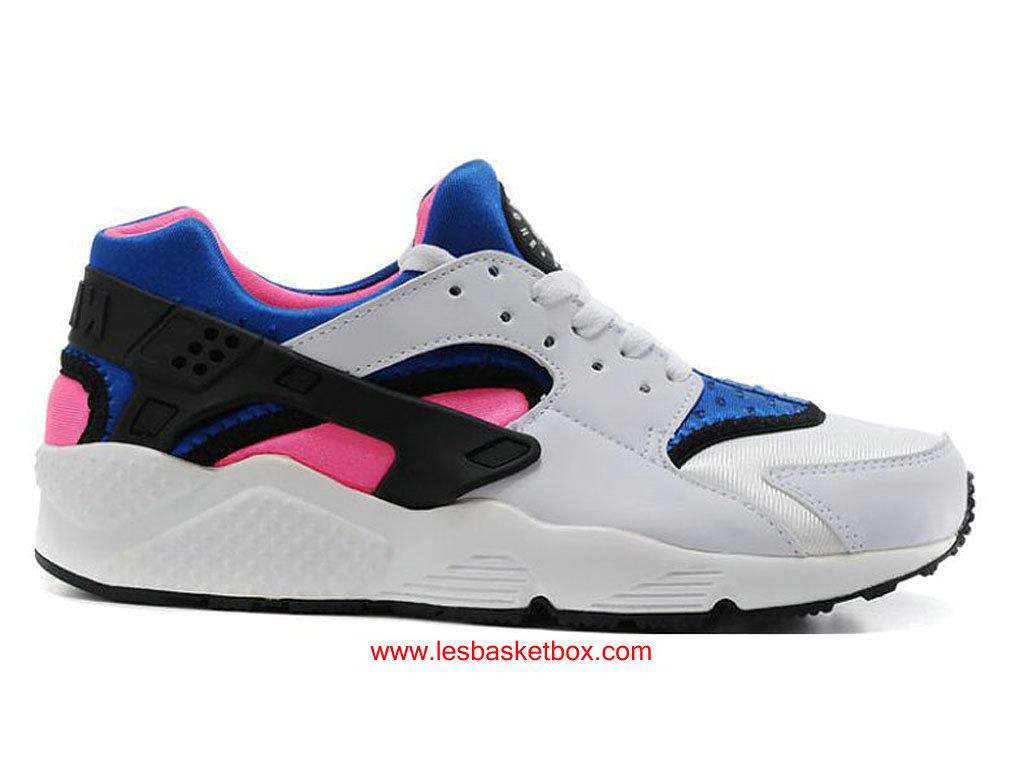 buy online 31d5f 4d814 Nike Air HuaracheNike Air Urh Blanche Rose Noire Colour Pour