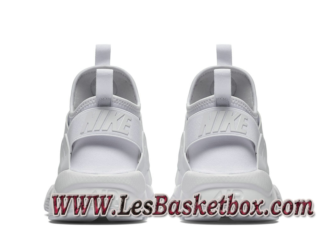 reputable site 937e0 dce5d ... Nike Air Huarache Run Ultra Blanche 819685 101 Chaussures nike Urh Pas  cher Pour Homme