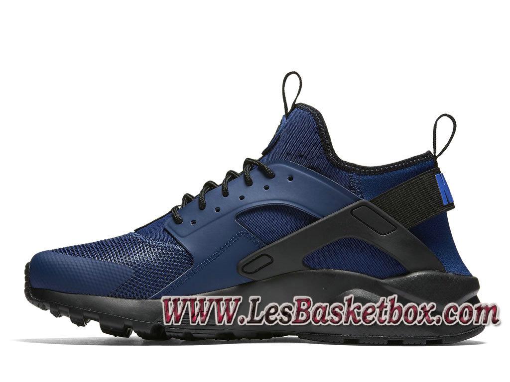 Nike Air Huarache Run Ultra Bleue Noire 819685 402 Officiel Urh Nike