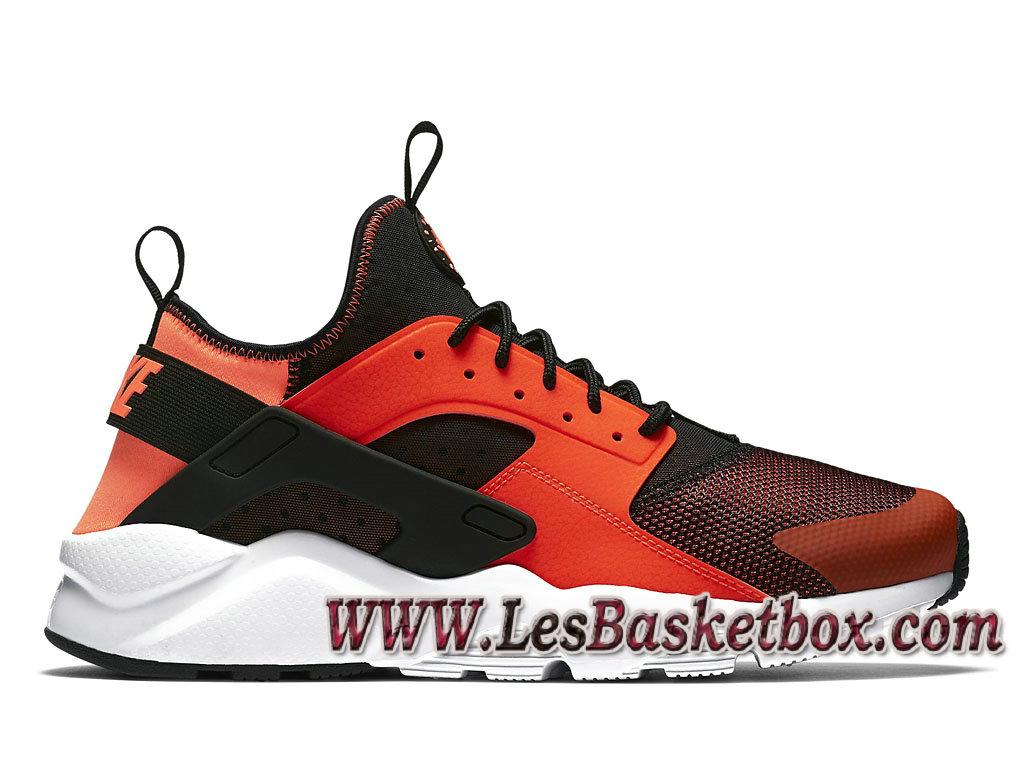 Nike Air Huarache Run Ultra Orange/Noire 819685_008 Officiel Nike Urh Officiel pour HOmme ...