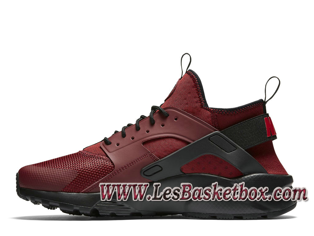 51ad2088fdce3e ... Nike Air Huarache Ultra Red Black 819685 601 men´s Nike urh Shoes ...